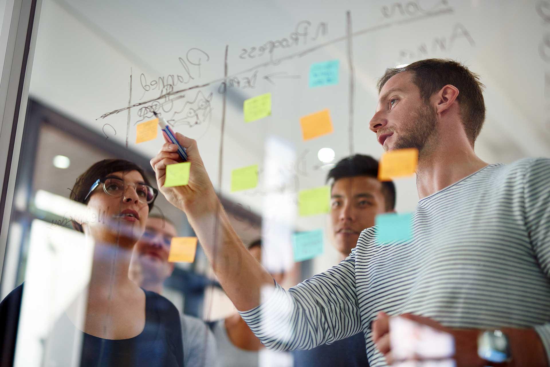 Organisation collaborative